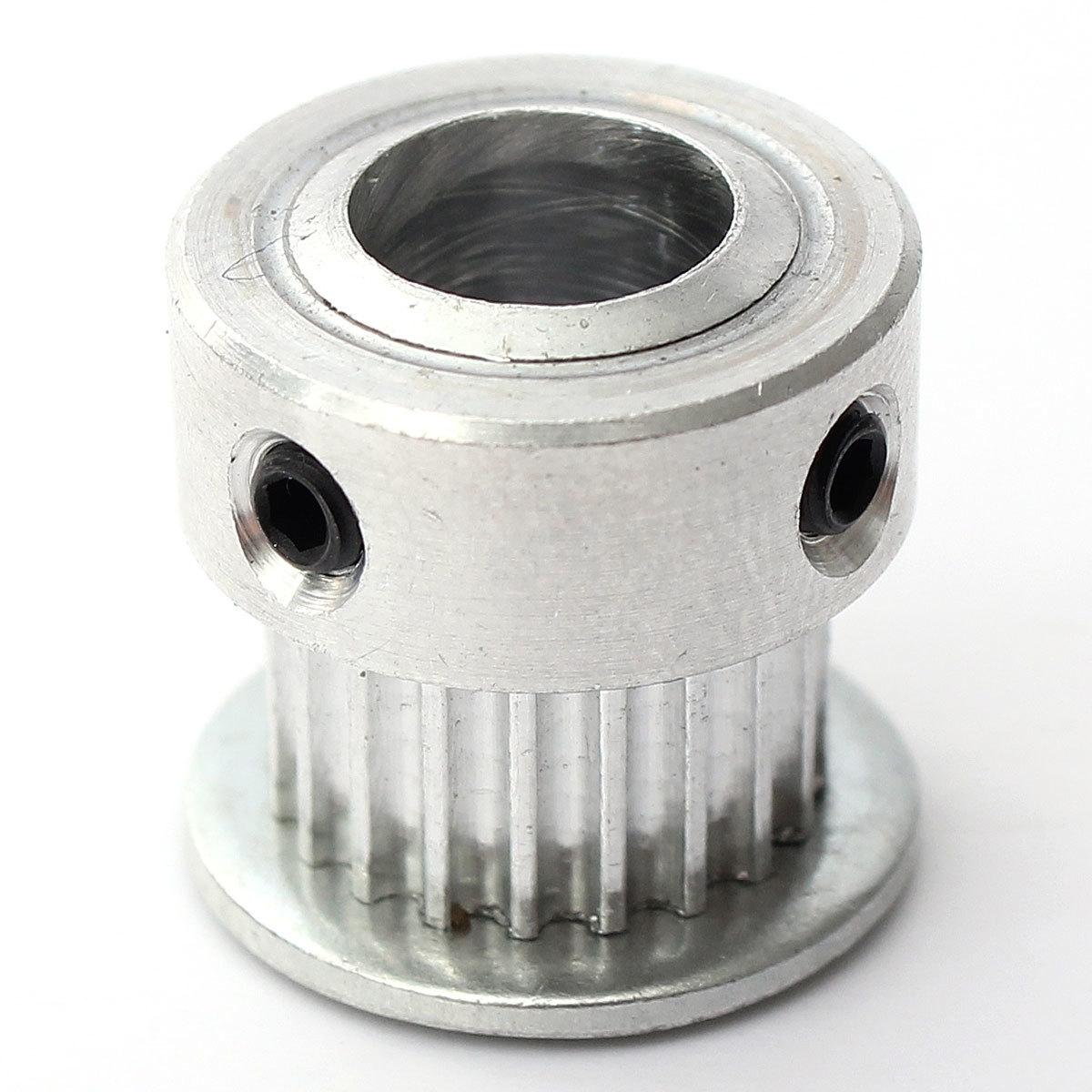 Buy Generic 3pcs 20t 8mm Bore 6mm Width Gt2 Aluminum Timing Drive Belt Pitch Diameter Image