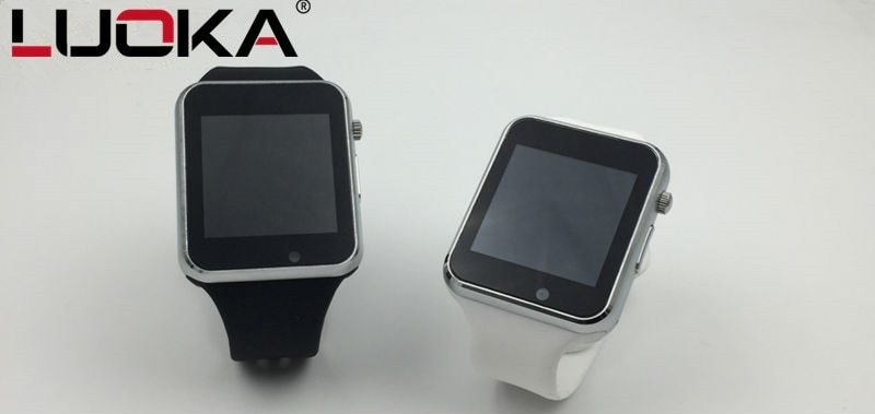 Generic A1 Smart Watch With Passometer Camera SIM Card Call