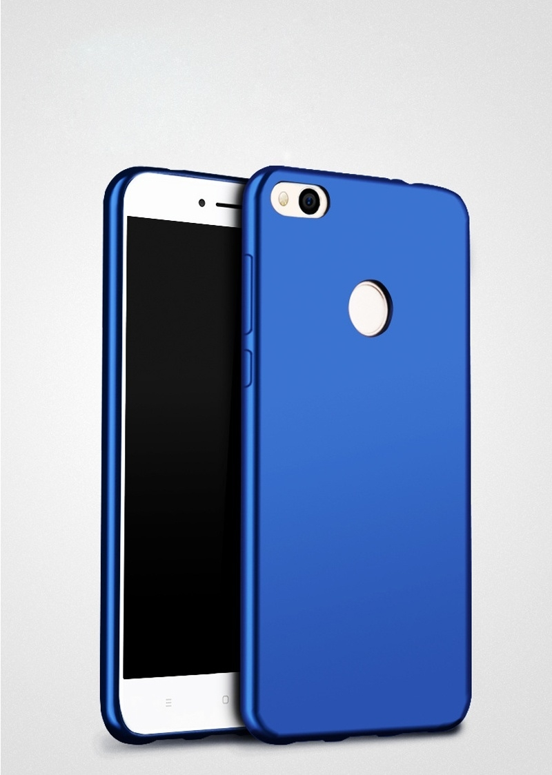 SOFT SILICONE PHONE CASE SWEATPROOF FINGERPRINT PROOF PROTECTIVE BACK COVER FOR XIAOMI REDMI 4X INTL. image