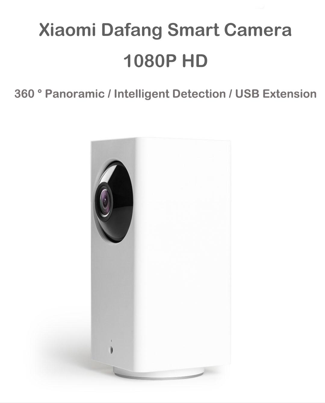 Xiaomi MIjia Dafang Smart Home 120 Degree 1080p HD Intelligent Security WIFI IP Camera Night Vision IR-cut Motion Detection Monitor