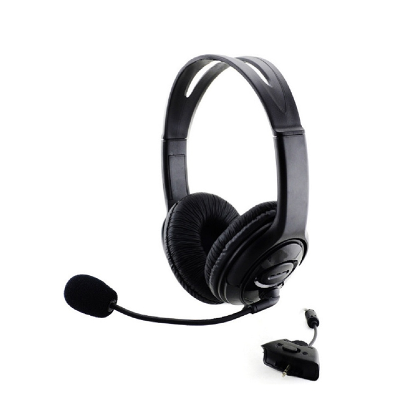 Generic Game Headphone for Xbox360 Gaming Headset Wired
