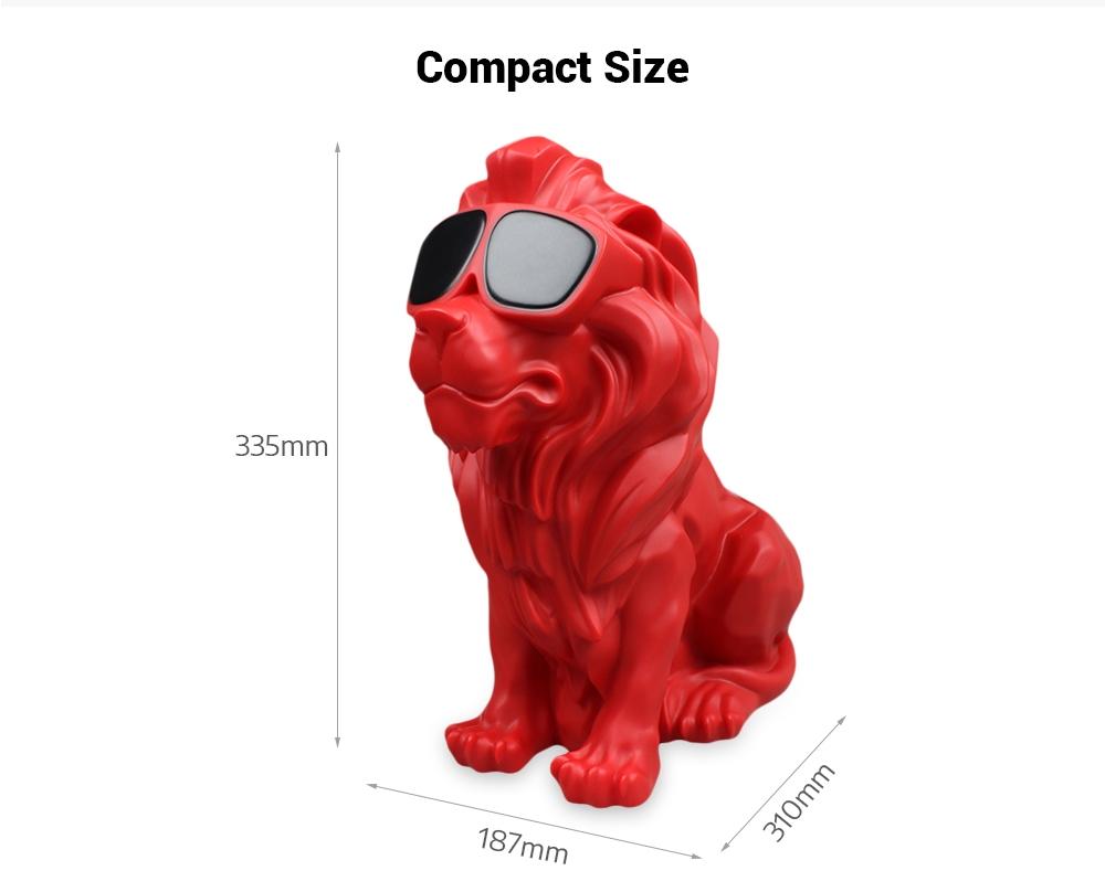 b909158de7ce ... M19 Creative Lion Shape Bluetooth Speaker Portable Wireless Player ...
