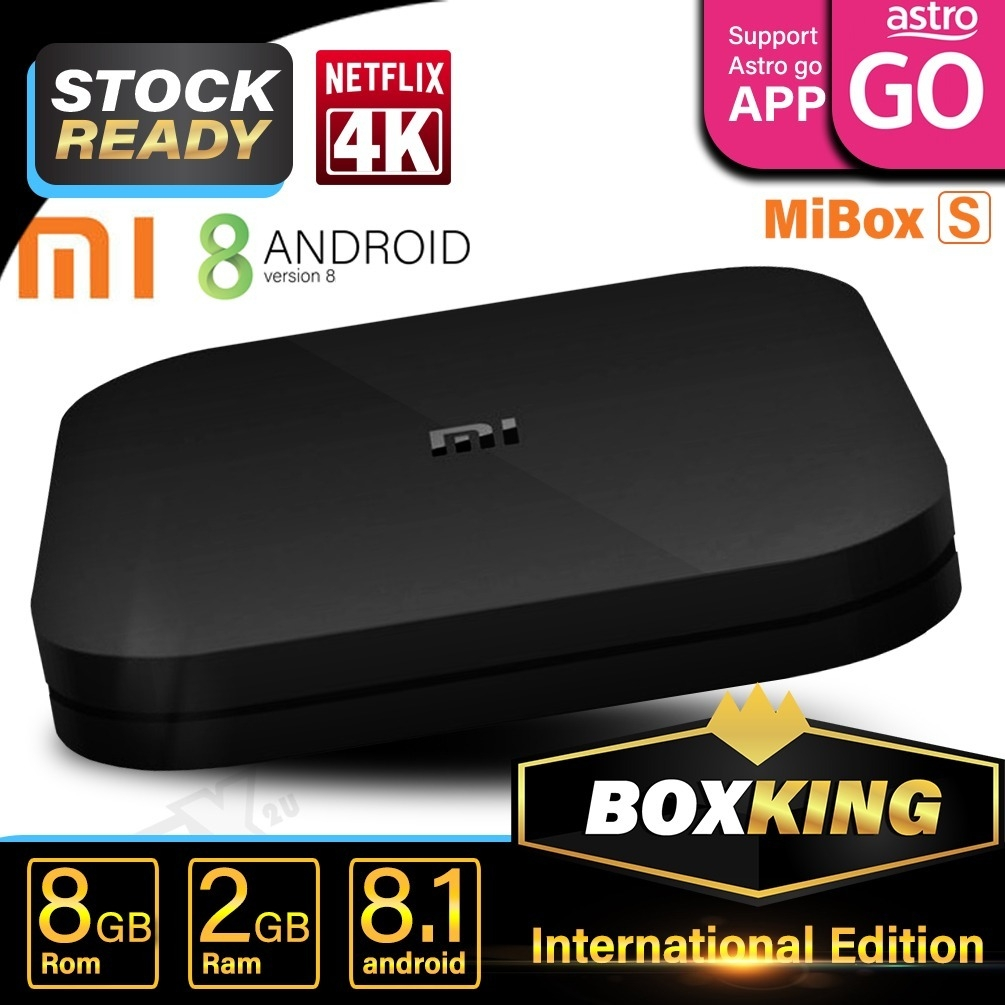 Generic Xiaomi box S smart android tvbox ( Pre Installed