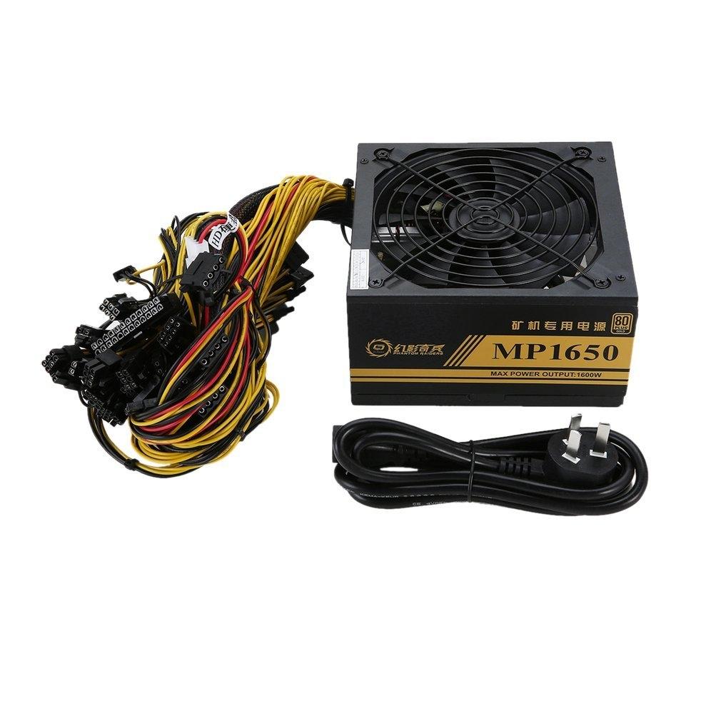 Generic TA-1600W Modular Power Supply For 6 GPU Eth Rig