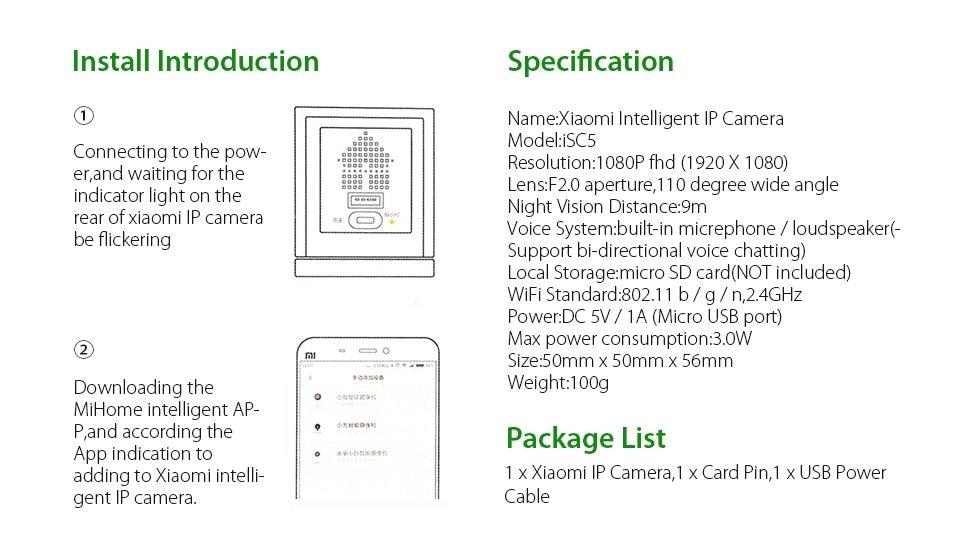 Generic Xiaomi Xiaofang 1S Smart IP Camera 1080P Mijia Cam
