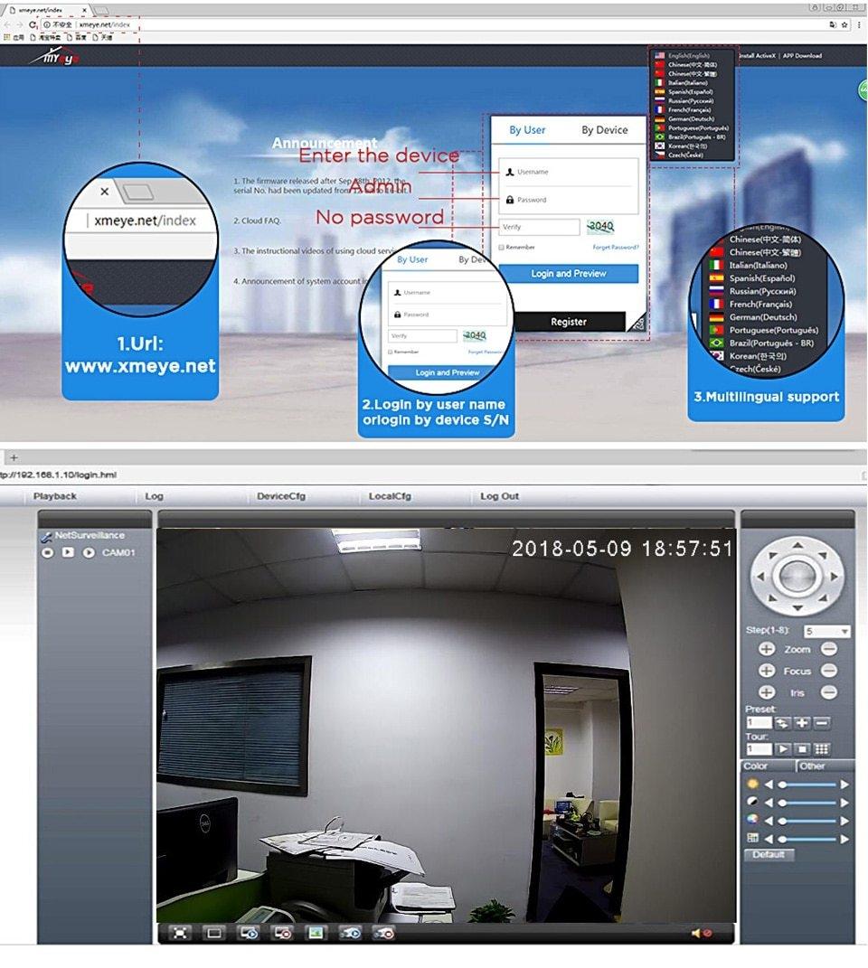 Generic H265 IP Bullet waterproof IP66 Infra-red Camera 1080P 3MP