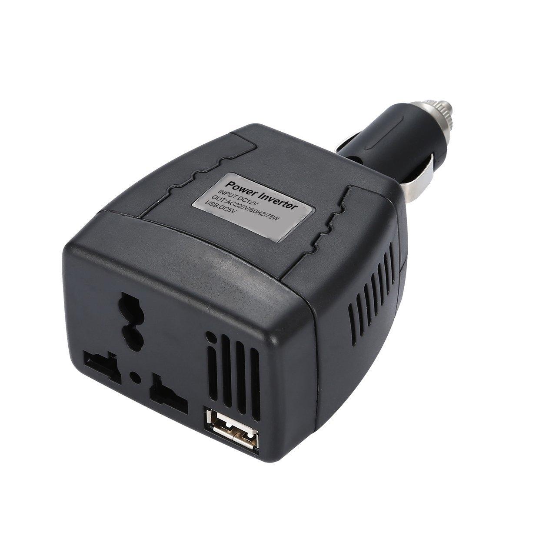 Generic CO 75W Car Inverter DC12V to 110V/220V 50Hz Power