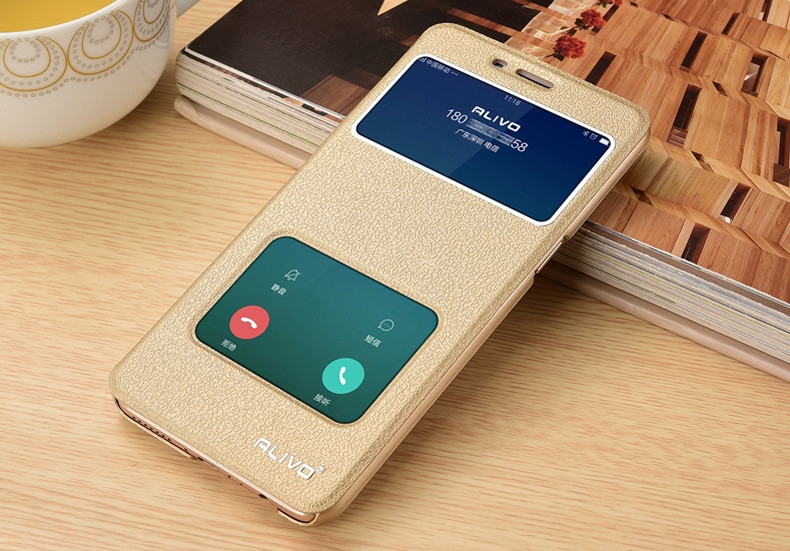 Generic For OPPO A37 View Window Flip Leather Cover Case