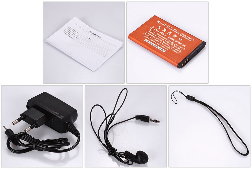 B550 Quad Band Unlocked Phone with Bluetooth FM Sound Recorder Alarm Torch