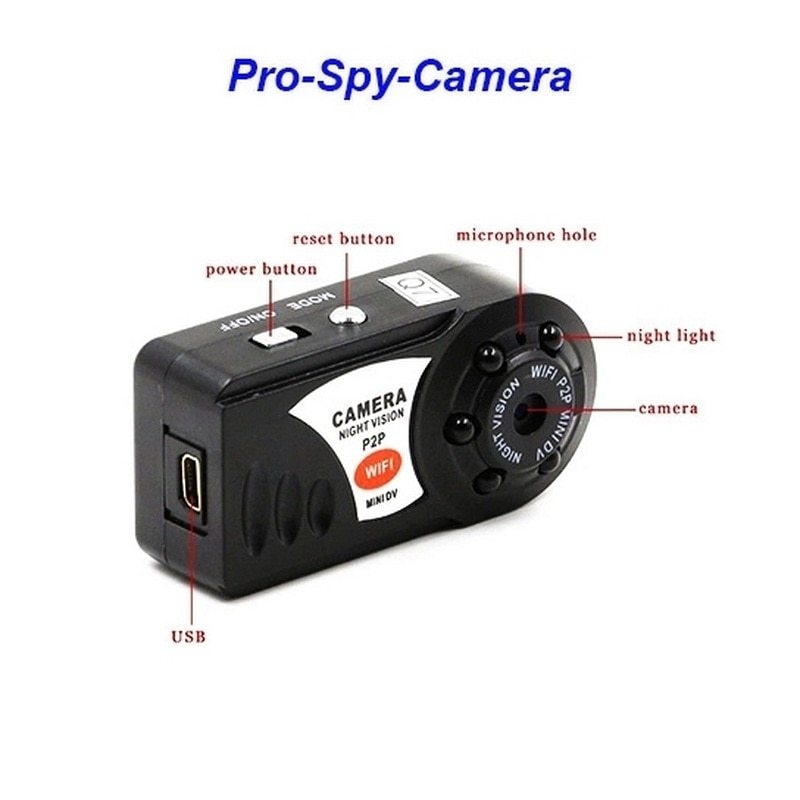 Generic Q7 Mini Camera WIFI HD Mini Video Camcorder Wireless