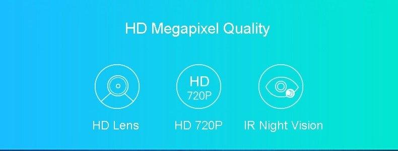 Generic 2MP IP Camera 1080P Wi-Fi Wireless Surveillance Camera WiFi