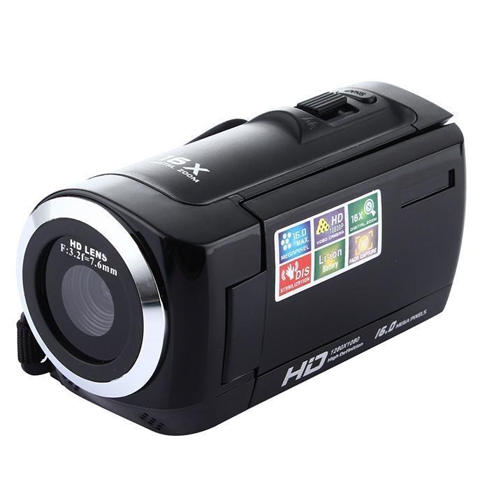 e5af7da7f Generic 1080P Full HD 16MP Digital Video HDC6A 16X Camcorder Camera ...