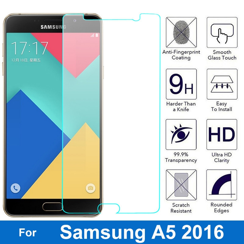 Generic Nicotd Tempered Glass For Samsung Galaxy A3 A5 A7 2017 2016
