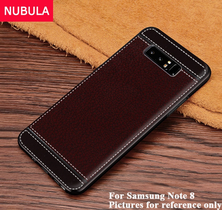 Generic For VIVO NEX Back Case With Finger Metal Ring Soft Leather