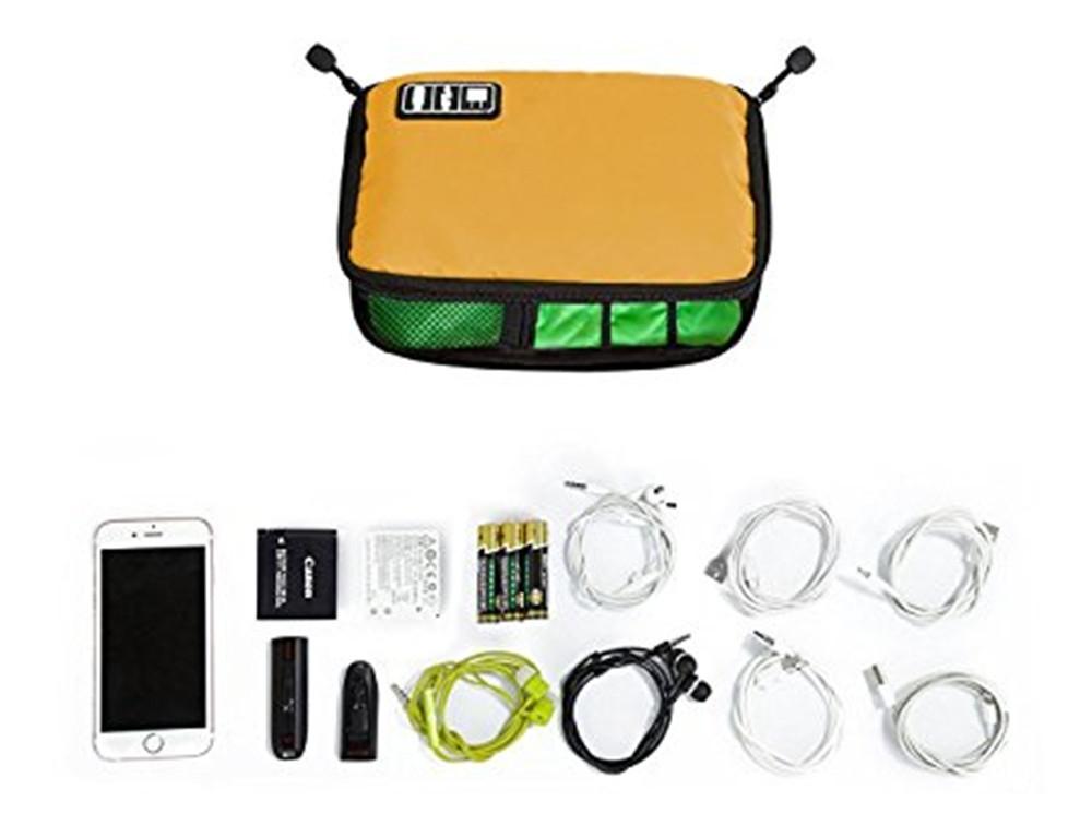 Luxury Digital Accessories Storage Pouch Case Travel Organizer Bag