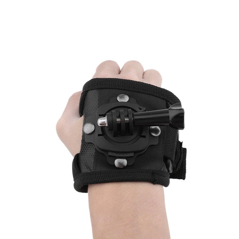 Buy Generic 360 Degree Glove Style Wrist Band Hand Strap For Gopro Mount Xiaomi Sjcam Image