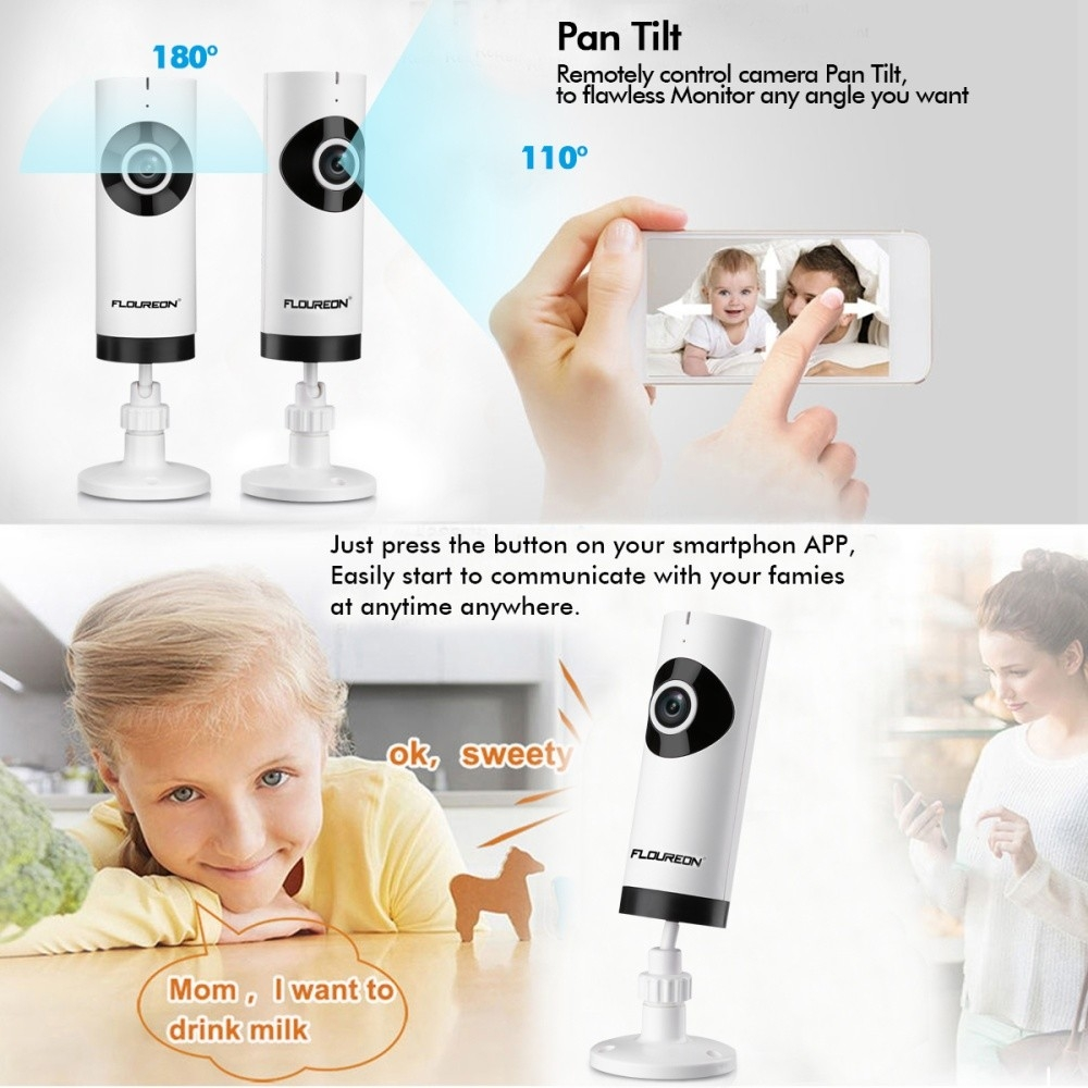 Generic 720P HD Wireless Network Surveillance CCTV Security