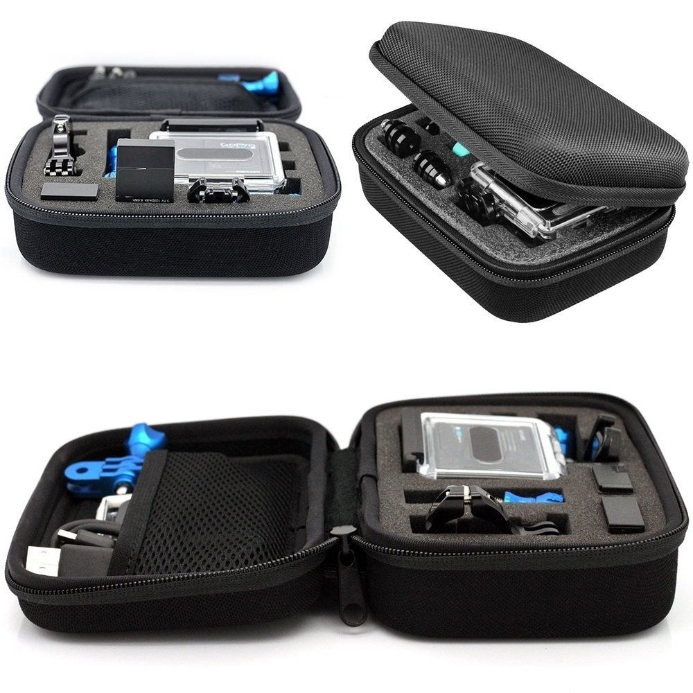 Small EVA Travel Hard Case Cover for GoPro Hero 7/Hero 6/5/4/3/SJ6000/SJ7000