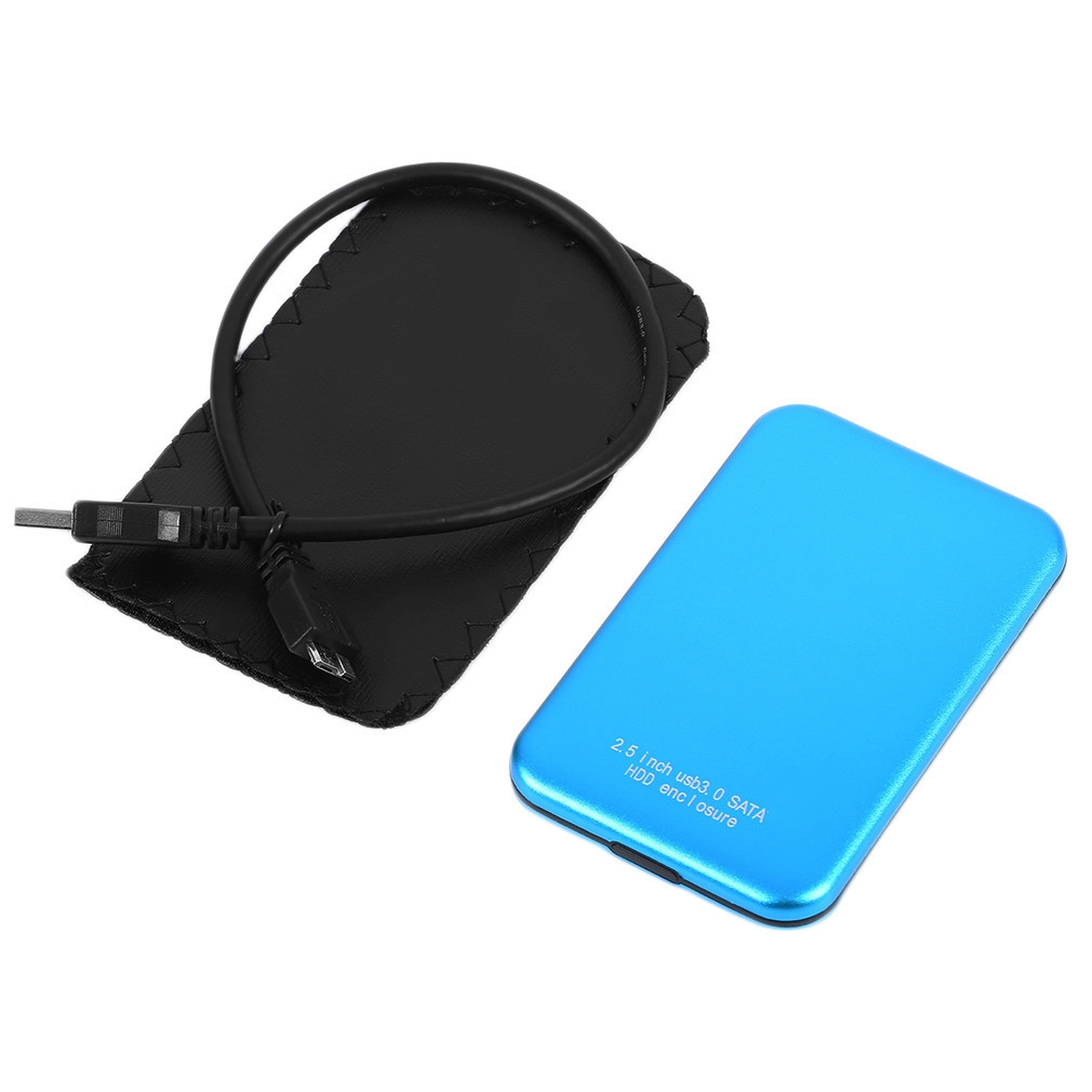 Buy Generic Hdd Cover Case Hard Drive Disk Sata External Usb30 Casing Hardisk 25 Inch Usb 20 Laptop Made Of Aluminum Magnesium Alloy Material It Is Durable With Led Light Disply No Screw Needed High Speed Storage System For