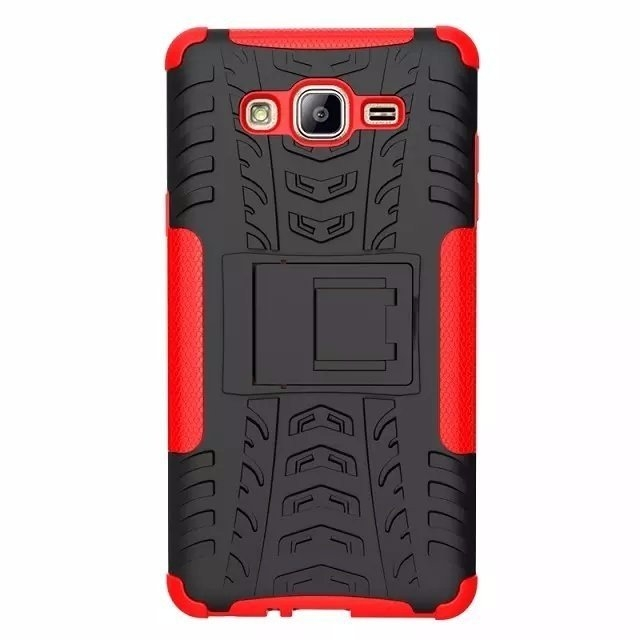 For Samsung On7 Case Luxury Hybrid TPU Shock Proof Silicone + Hard Case Cover For Samsung Galaxy On7 O7 G6000 Case Back Cover (2)