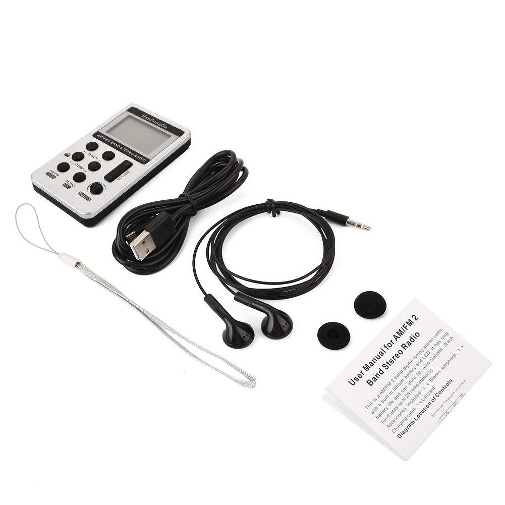 Generic Pocket DSP Digital Display Rechargeable Radio FM AM