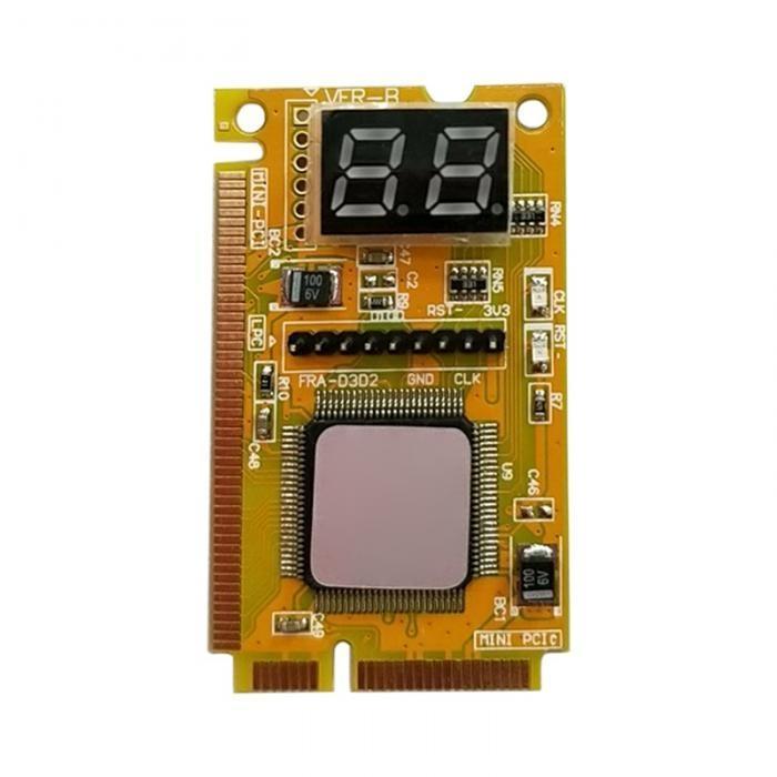Generic 3 In 1 Mini PCI PCI-E LPC PC Analyzer Tester