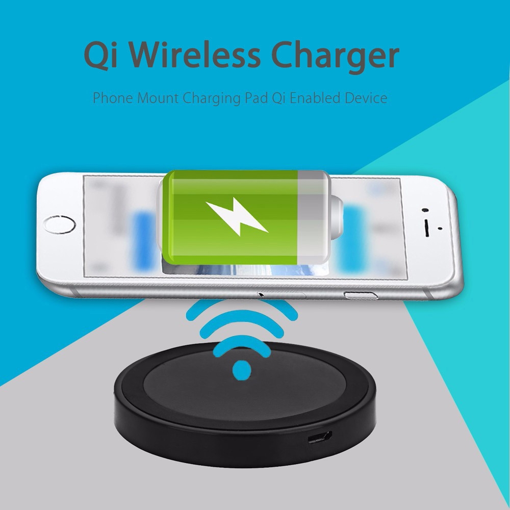 buy generic qi wireless charger phone mount pad charging. Black Bedroom Furniture Sets. Home Design Ideas