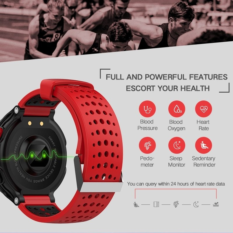 X2 Smart Watch IP68 Waterproof 4.0 Bluetooth 0.96 Inch Blood Pressure Tracker Heart Rate Sleep Monitor For Android IOS (5)