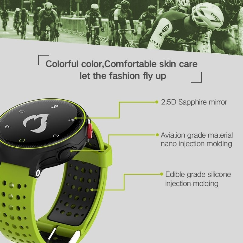 X2 Smart Watch IP68 Waterproof 4.0 Bluetooth 0.96 Inch Blood Pressure Tracker Heart Rate Sleep Monitor For Android IOS (9)
