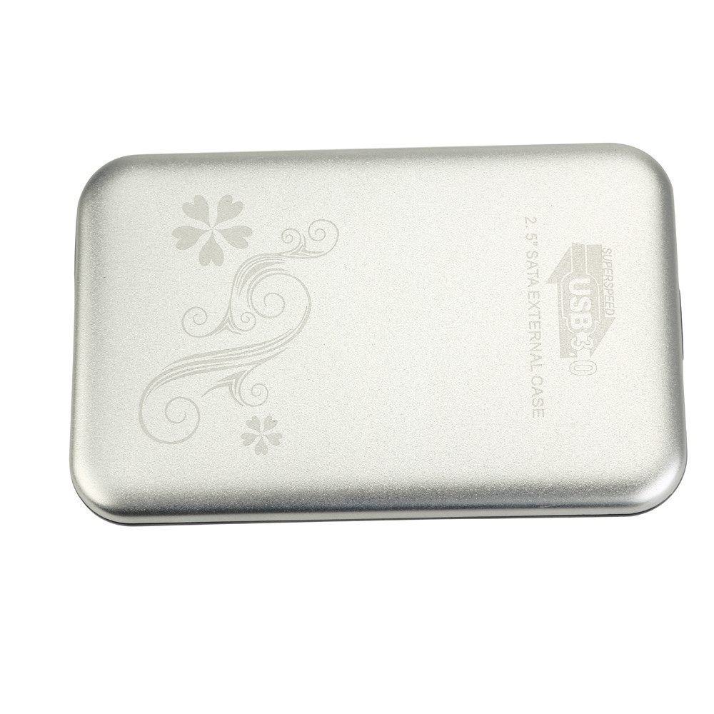 Buy Generic 100 New Usb 30 External 25 Inch Sata Hard Disk Drive Tebal Hdd Caddy Ssd Enclosure Case Image
