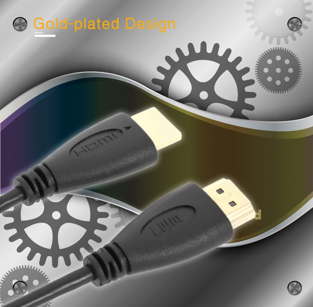 LWM High Speed HDMI 1.4 Cable Support 1080P 3D