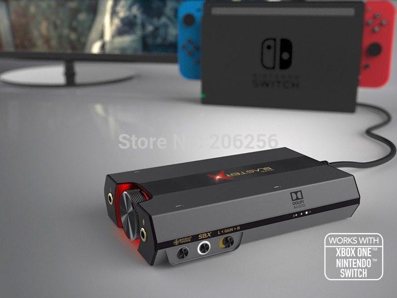 Generic New Creative Sound BlasterX G6 7 1usb external game