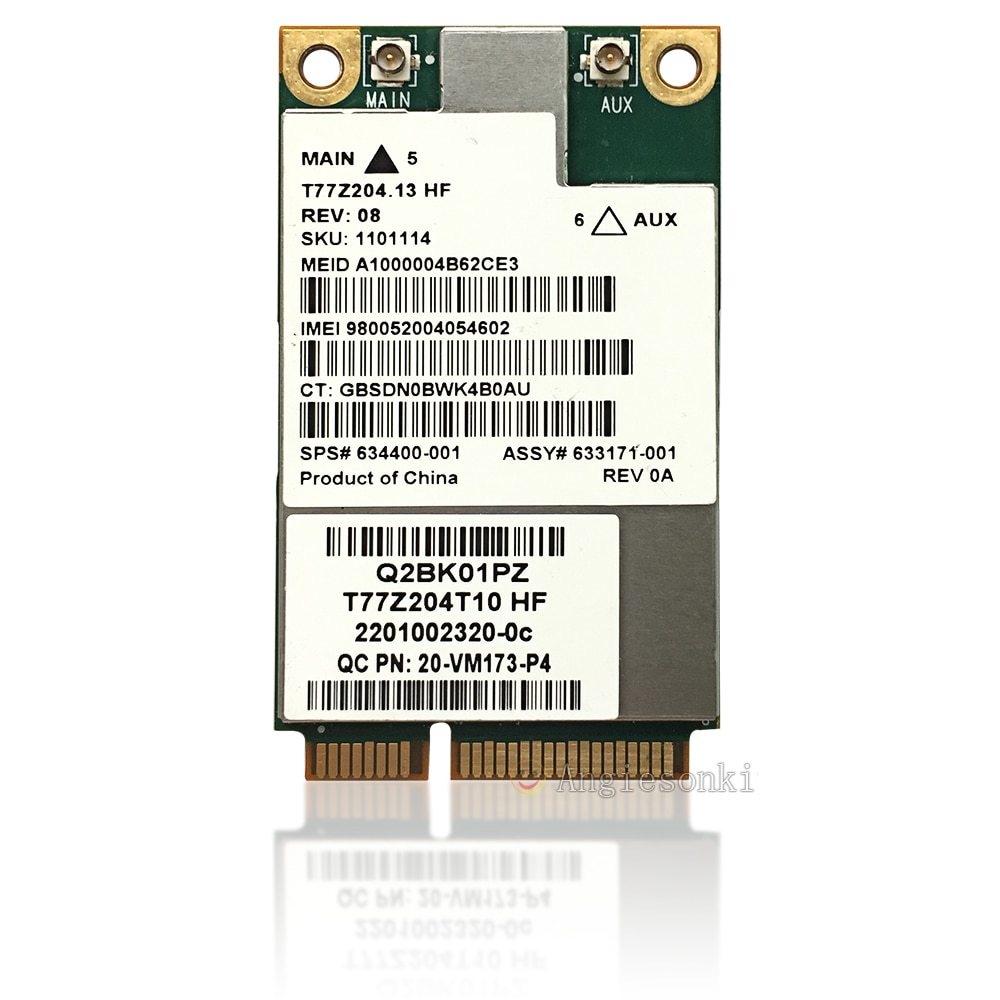 Generic 3G Wireless UN2430 Gobi3000 MC8355 Mobile Broadband 702080