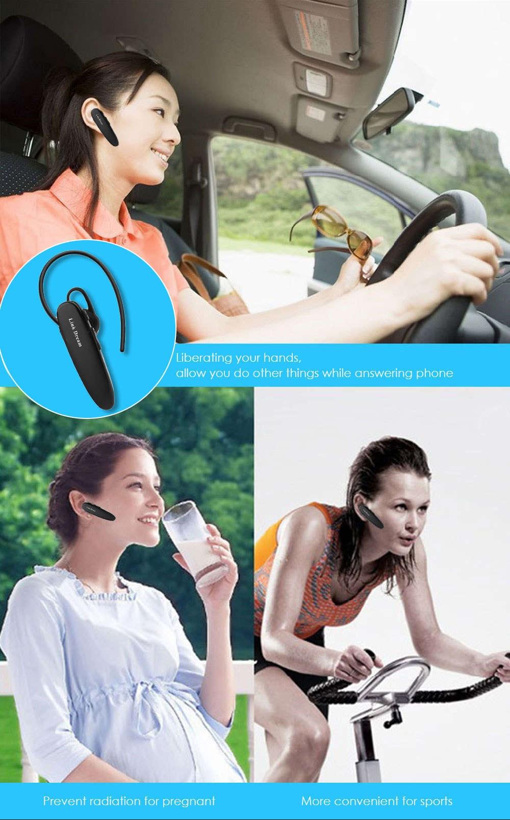 LC - B40 Wireless Bluetooth V4.0 Hands Free Stereo Earphone