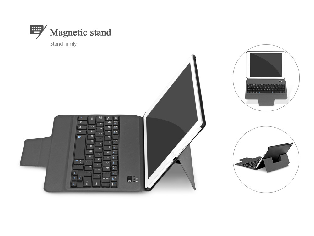 3 in 1 Universal Bluetooth Keyboard Tablet Protective Case with Stander for iPad Air 1 / Air 2 / iPad Pro 9.7