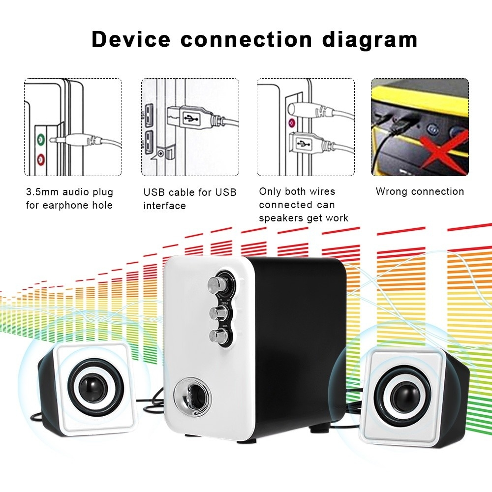 Buy Generic A11 Wired Computer Speakers Mobile Speaker Box Mini Loudspeaker Wiring Diagram This Portable Is Specially Designed For Desktop Laptop Notebook Tablet Pc Its High Grade Will Bring You Much Wonderful Music