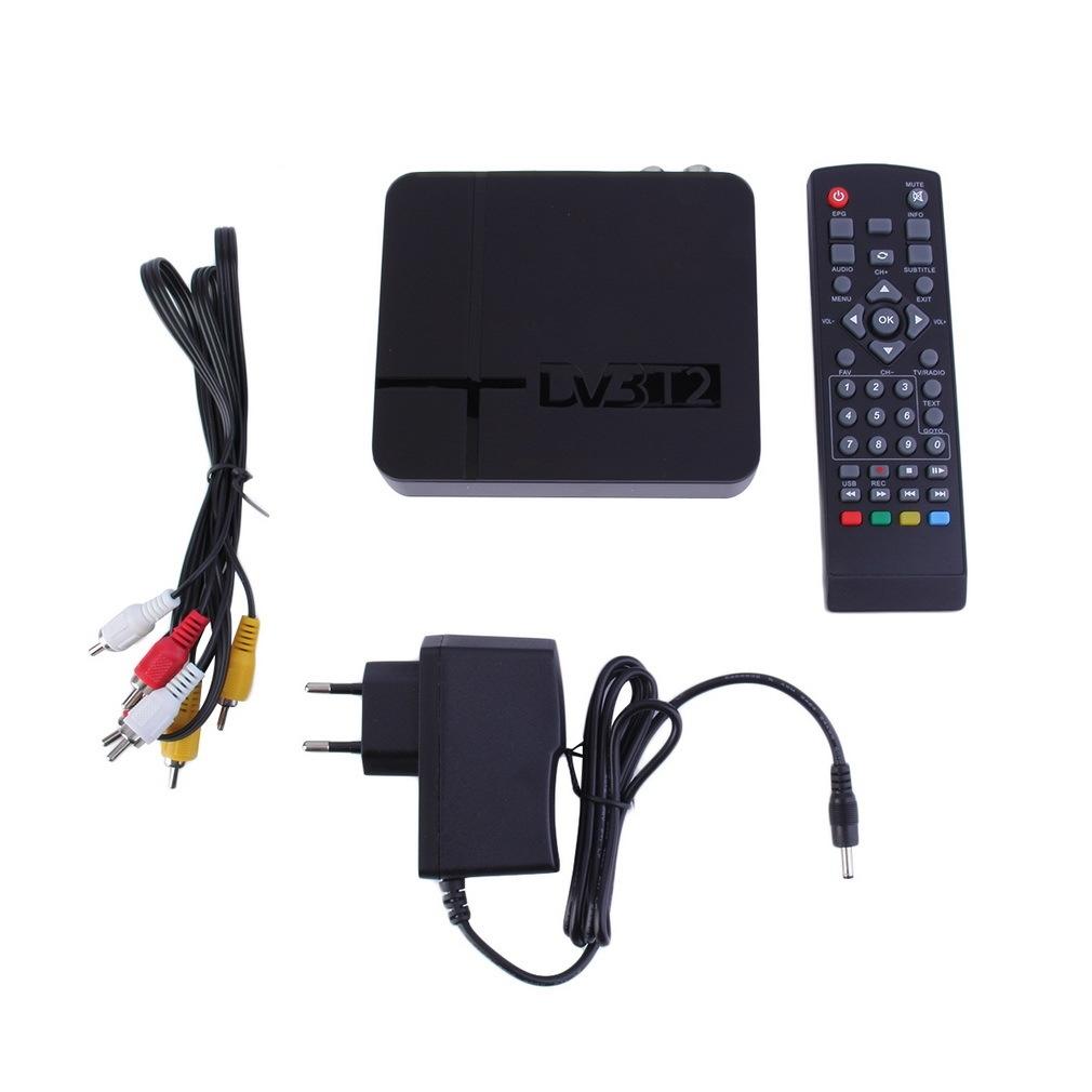 Buy Allwin MIni HD DVB-T2 Digital Terrestrial Receiver Set ...