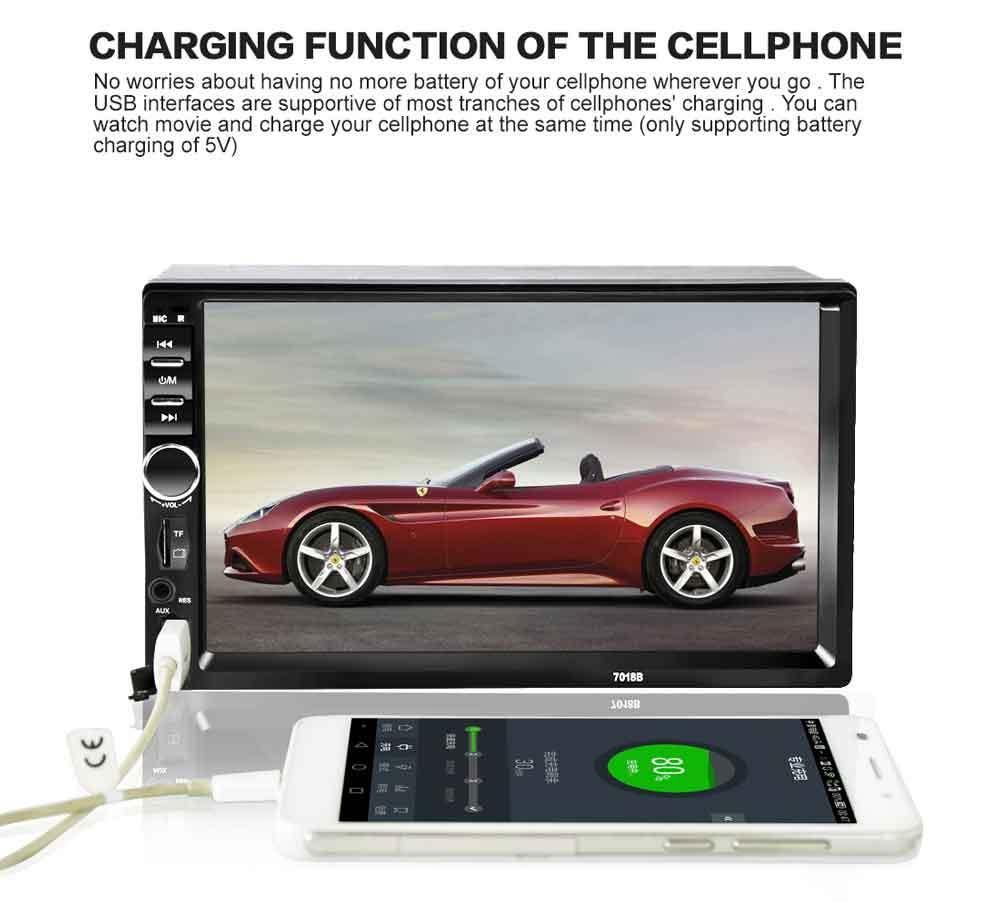 Generic Leadsmart 7018B 7 Inch Bluetooth V2 0 Car Audio