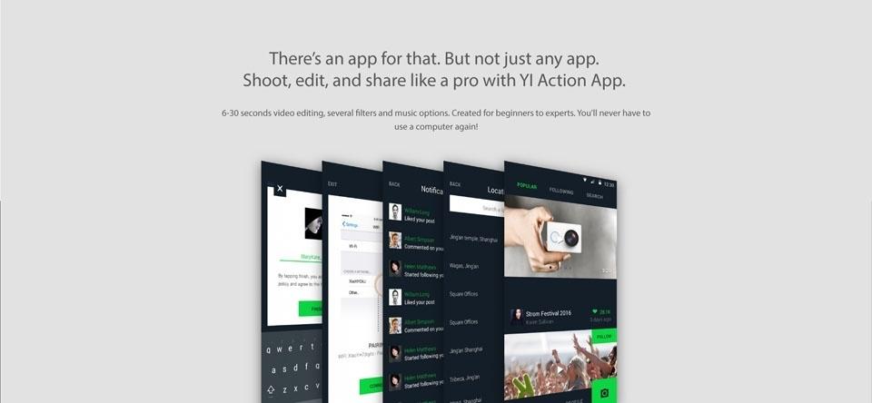 Generic Xiaomi Xiaoyi Action Camera 4K + Yi Handheld Gimbal