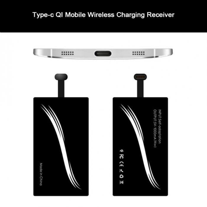 Generic Type-C Wireless Charger Receiver Phone Charging