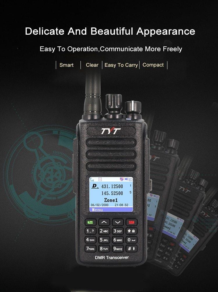 Generic Hot DMR MD-390 DMR Radio with GPS Waterproof IP67