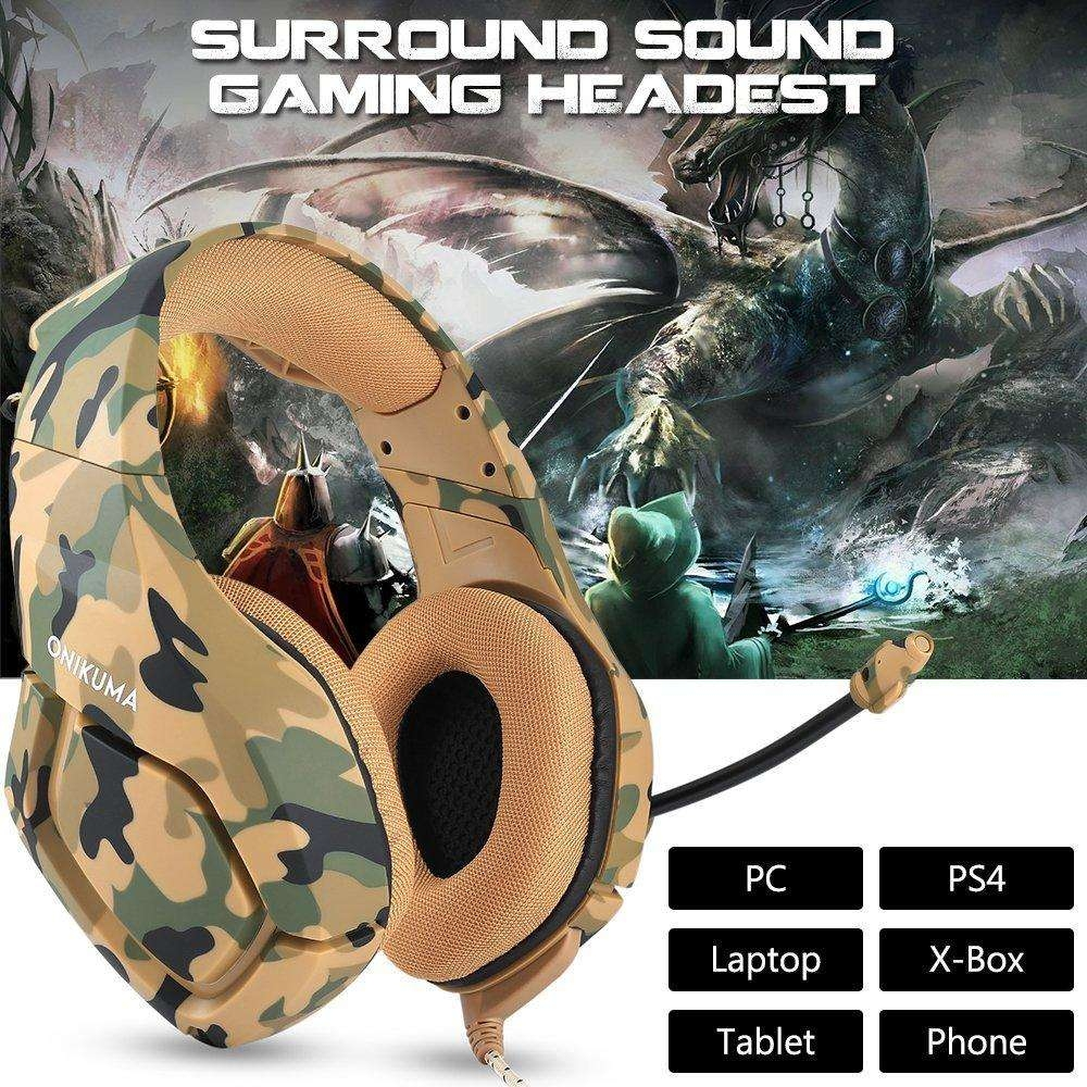 Generic Gaming Headset for PS4 New Xbox one PC Mac Nintendo