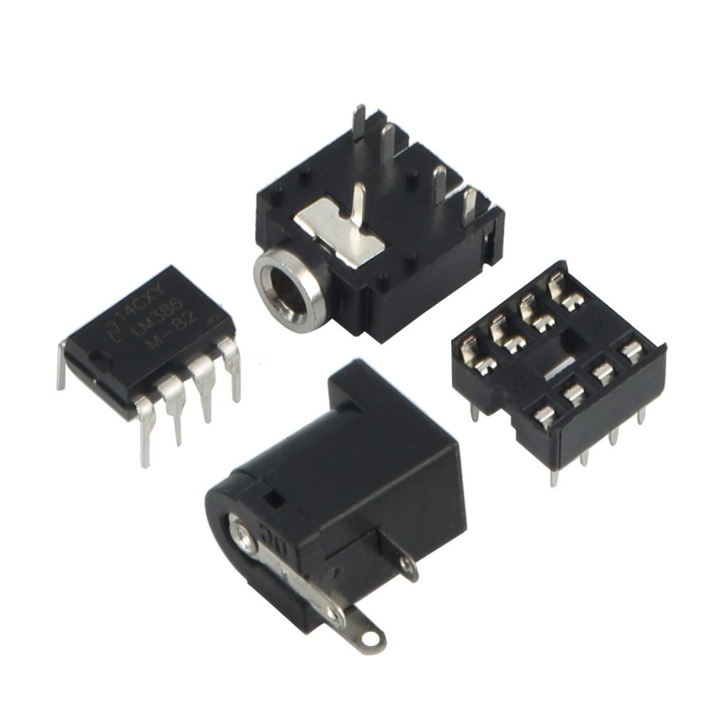 Buy Allwin New 1pcs Lm386 Super Mini Amplifier Board Module 3v 12v Audio Circuit With Pcb Image