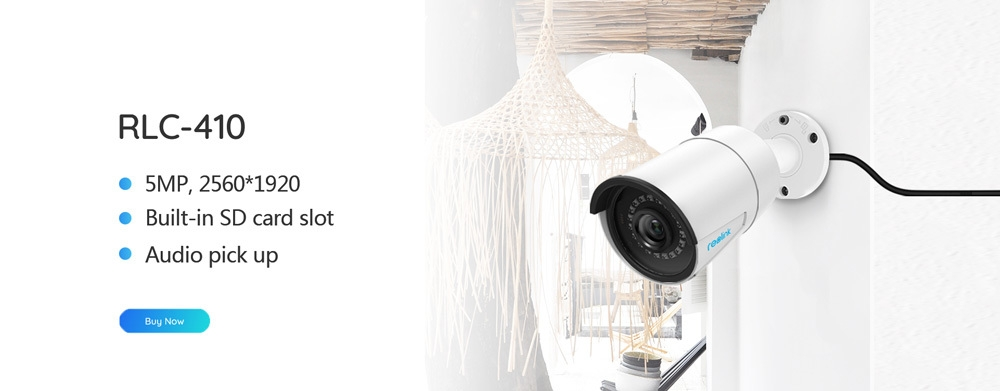 Generic IP camera outdoor PoE audio 4MP day&night vision