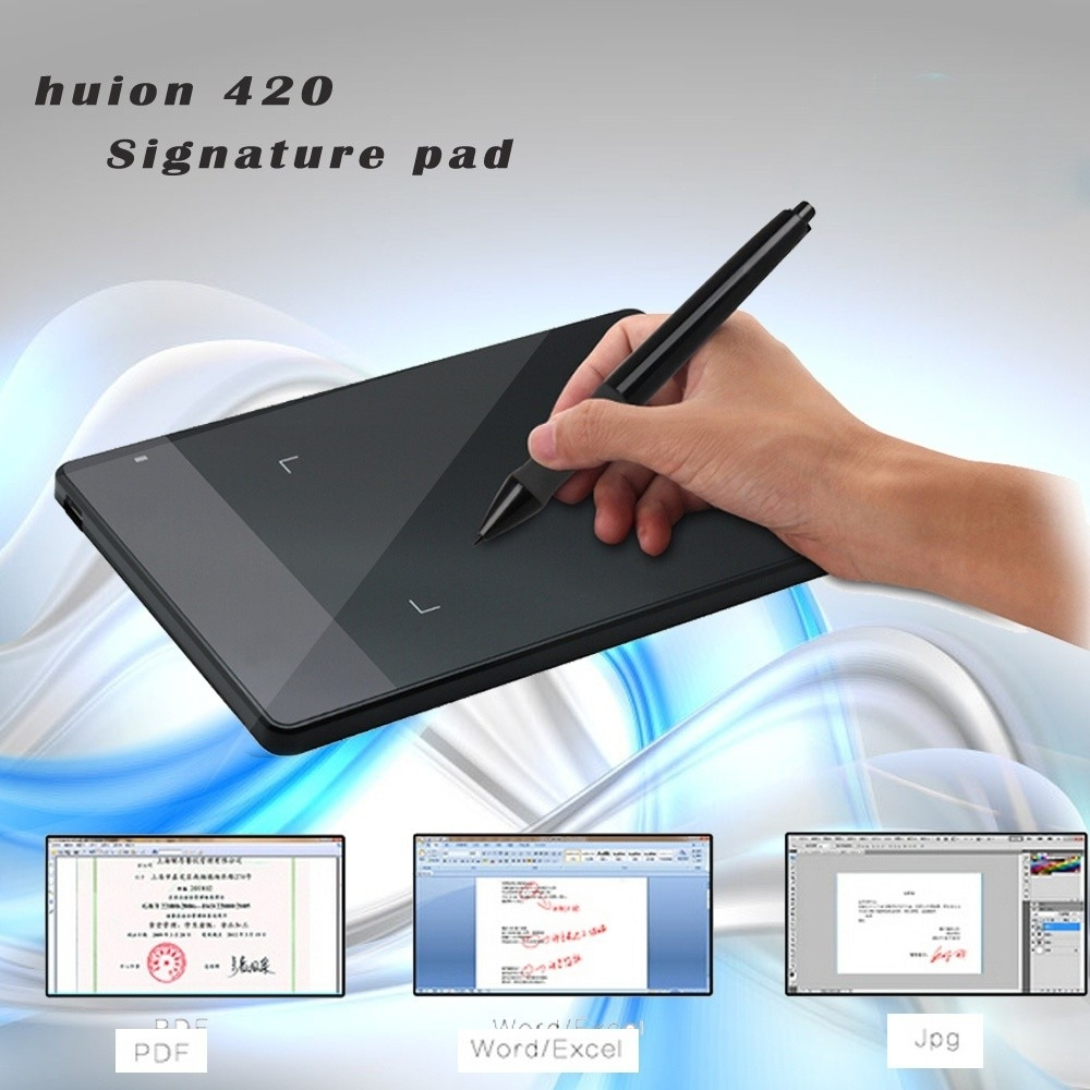 Generic Black 420-B Stylus Digital Drawing Pen Graphics