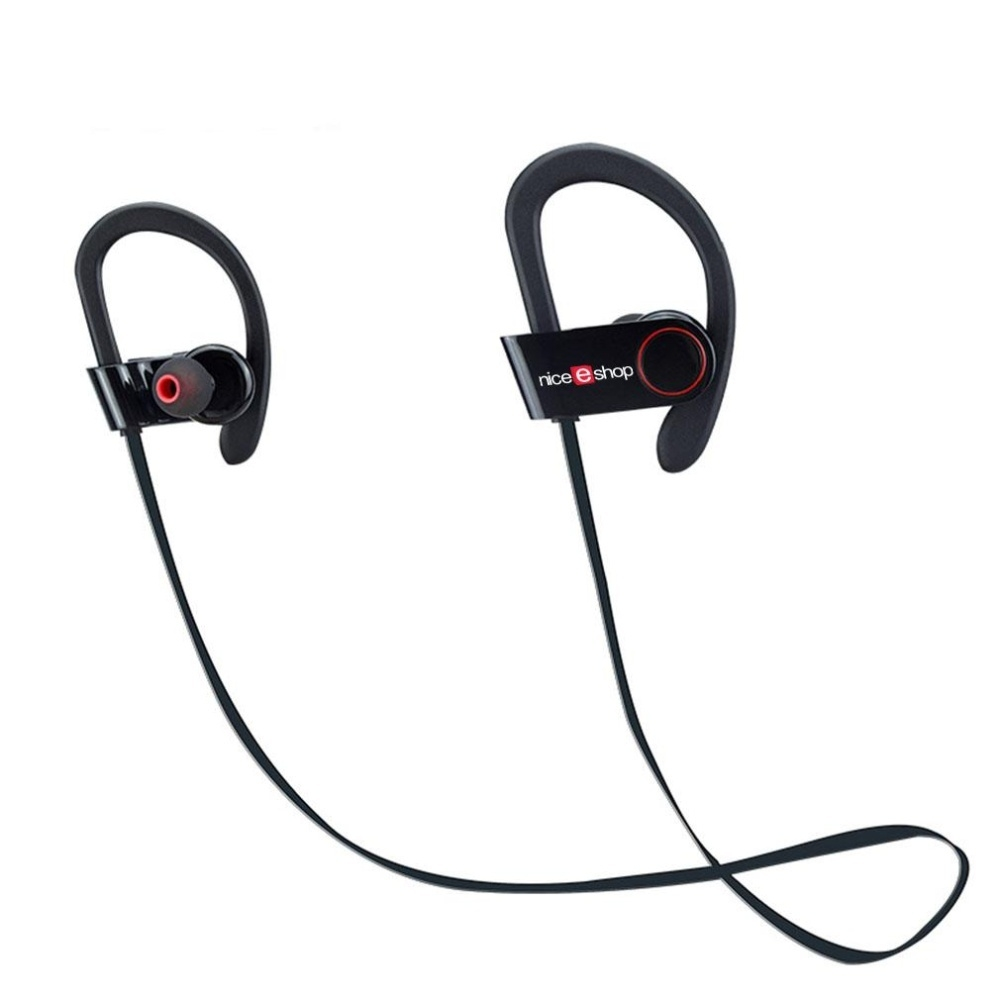 e73890306fb Generic Bluetooth Earbuds, in Ear Sport Headphones Best with Mic Wireless  Earphones IPX4 Sweatproof Fitness Stereo Ear Phones Gym Running Exercise  Workout ...