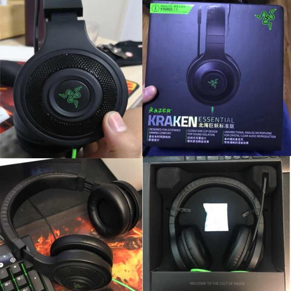 Generic Kraken Essential Headphone Noise Isolating Over-Ear