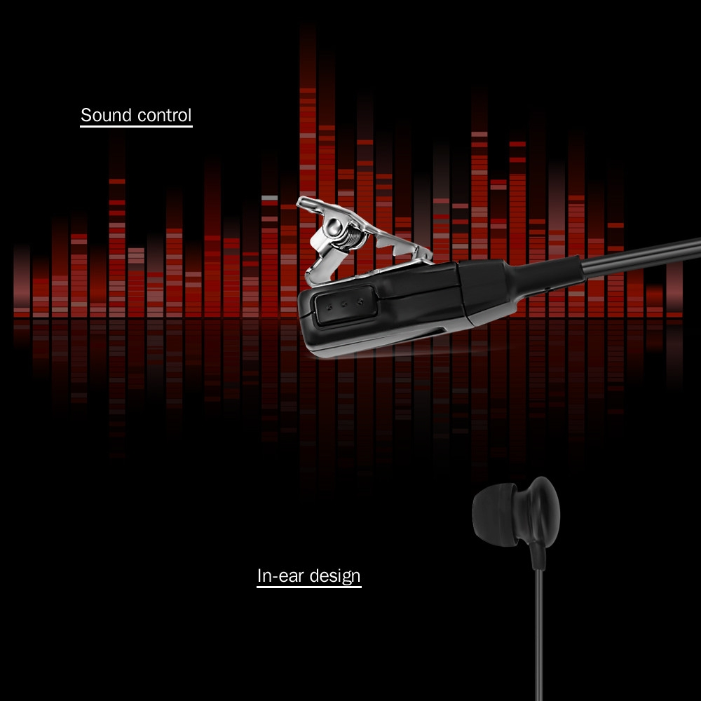 SH - CT01 Walkie Talkie Headset with Clip