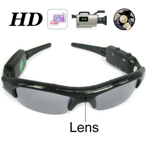 Spy Glasses Sunglasses Hidden Camera Video Recorder 720x480