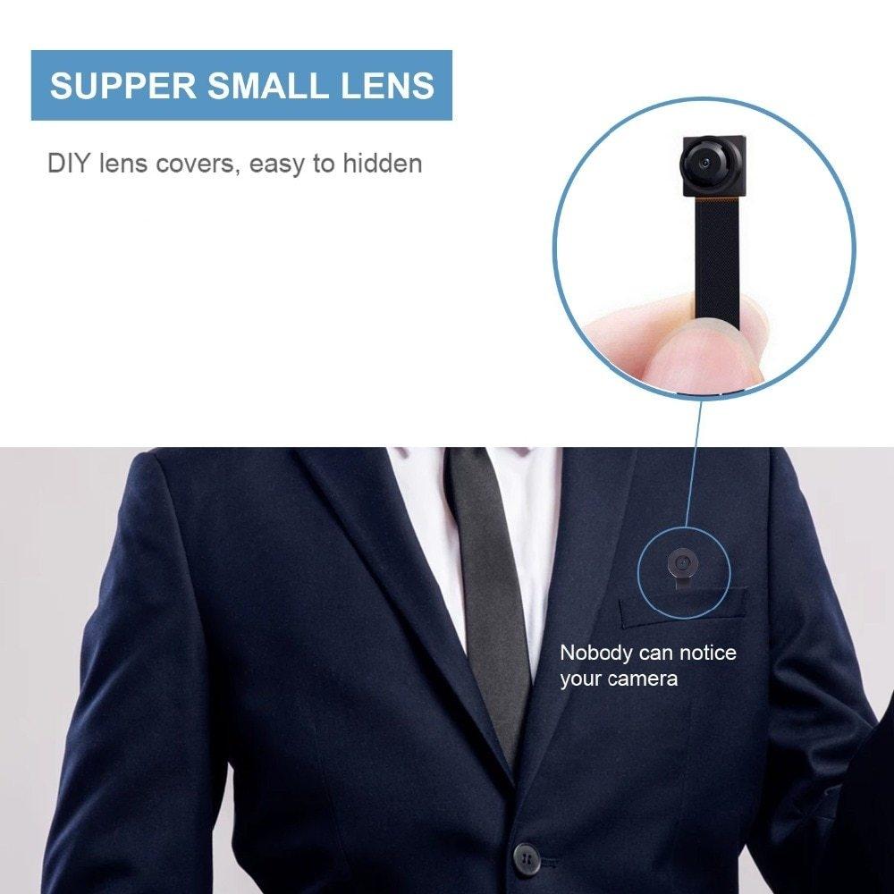 Generic HD 1080P DIY Portable WiFi IP Mini Camera P2P